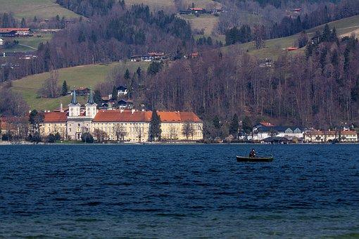 Tegernsee, Lake, Alpine Lake, Upper Bavaria, Water