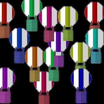 Balloons, Colorful Balloons