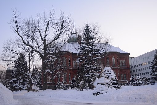 Hokkaido, Sapporo, Winter, Japan, Travel, Landmark