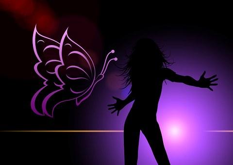 Woman, Dance, Disco, Nightclub