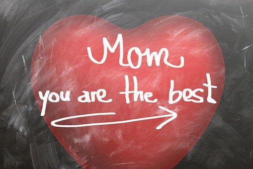 Mother's Day, Mother, Heart, Board, Gratitude, Love