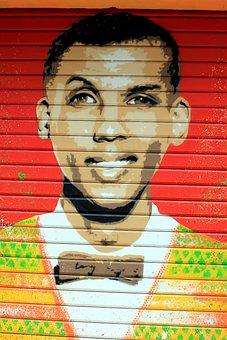 Tag, City, Stromae, Singer, Graffiti, Painting, Urban