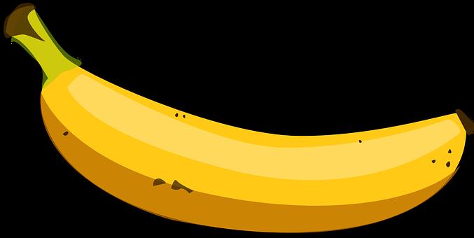 Banana, Yellow, Fruit, Tropical, Food, Healthy