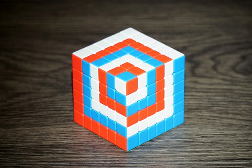 Magic Cube, Patience, Concentration, Play, Difficult