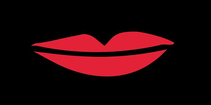 Lips, Mouth, Smiling, Beauty, Girl, Woman, Makeup