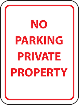 Park, Information, Parking, Private, Property