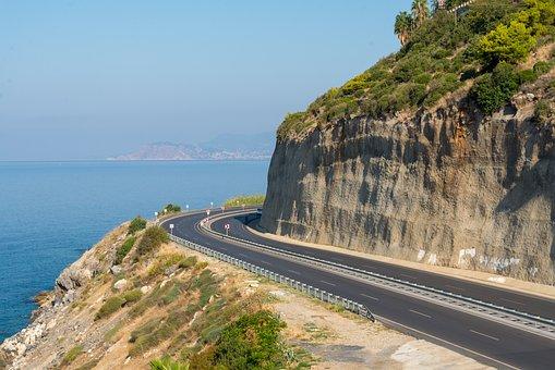 Coast, Sea, Turkey, Alania, Summer, Nature, Sky, Water
