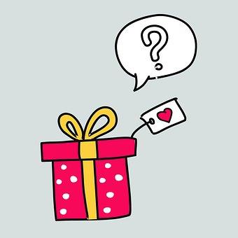 Gift, Vector, Icon, Graphics, Symbol, Box, Day Of Birth
