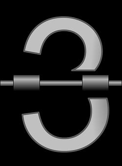 Three, Numbers, Alarm, Clock, Mechanical, Symbol