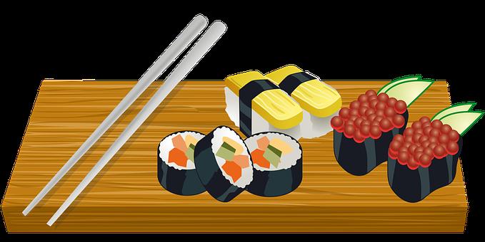 Board, Food, Food And Cooking, Fresh, Japan, Platter