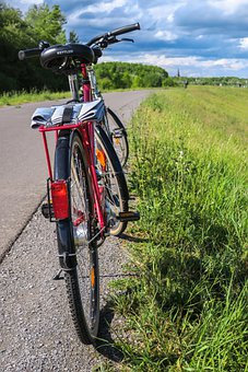 Cycling, Leisure, Bike, Cycle Path, Bicycle Path, Dike