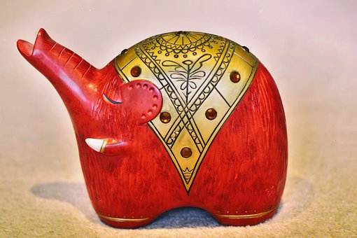 Govinder, Elephant, Ornament, Decorative, Ornamental
