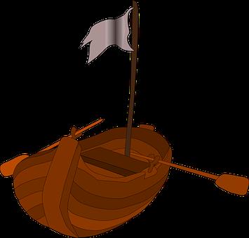 Pirate Rowboat, Pirates, Rowboat, Boat