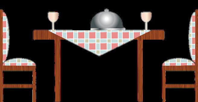 Kitchen Table, Retro Kitchen, Bowls, Clock, Retro Art
