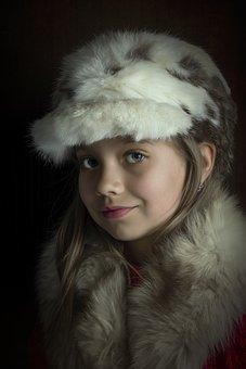 Girl, Portrait, Model, Facial, Smile