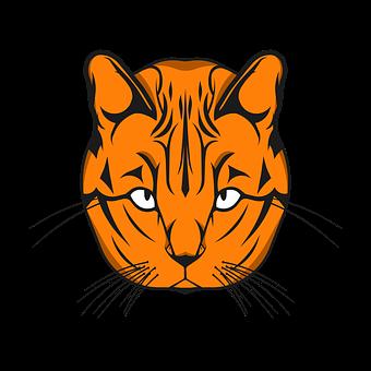 Cat, Symbol, Vector, Sign, Lines, Logo, Animal, Animals