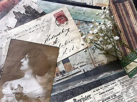 Postcard Memories, Love, Travel, Time, Messages