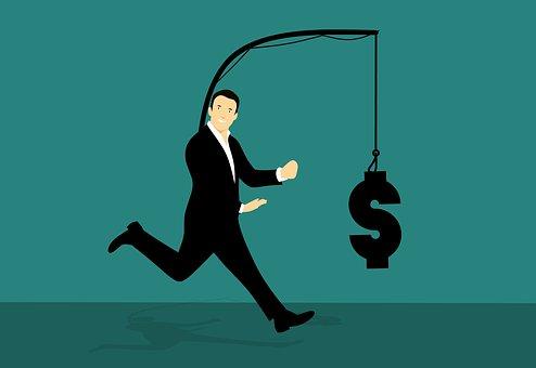 Chasing, Money, Run, Trying, Catch, Hook, Finance