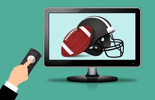 Rugby, Football, Tv, American, Ball, Team, Technology
