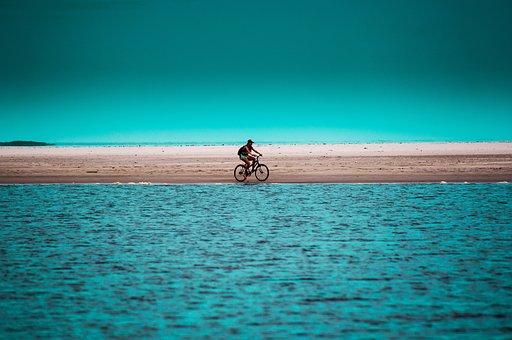 Praia, Menina, Superagui, Paraná, Guaraqueçaba, Mar