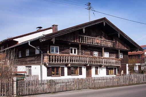 Farmhouse, Old, 16th Century, Farm, Agricultural