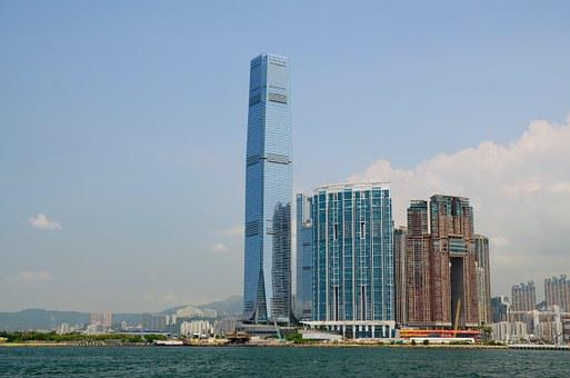 Hong Kong, China, Building, Architecture, City