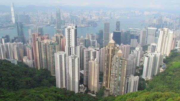Hong Kong, Asia, Mount Victory, Panorama, Big City