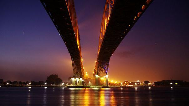 Bridge, Bridge Over Water, Highway, Interstate