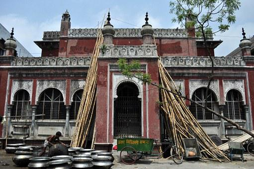 Dhaka, Building, Man, Merchant, Pots, Architecture