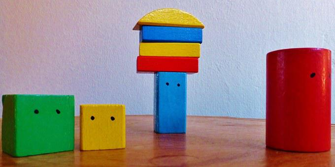 Building Blocks, Colorful, Tower, Build, Play
