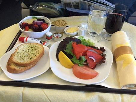 In-flight Meal, Business-class, Food