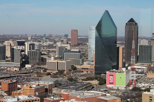 Dallas, Texas, City, Building, Architecture, Urban