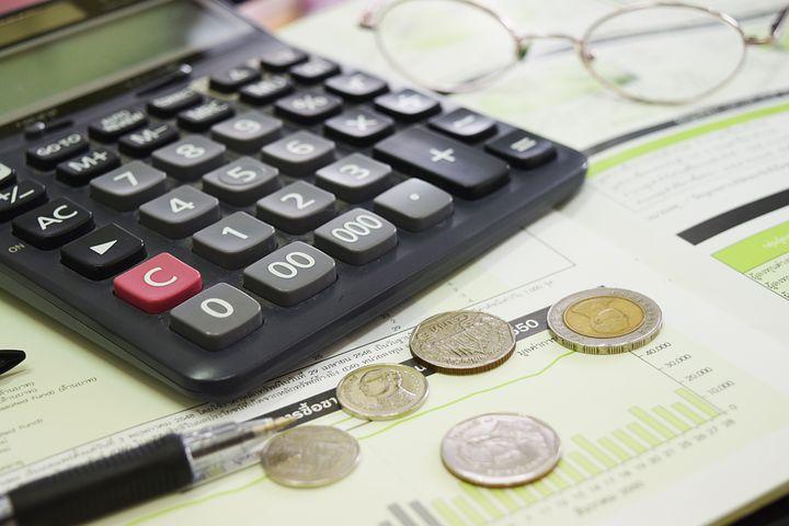 Economic, Coin, Business, Money, Graph, Calculators