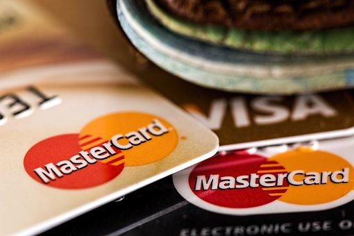 Credit Card, Master Card, Visa Card, Credit, Paying