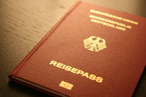 Passport, Document, Germany, Federal Republic Of