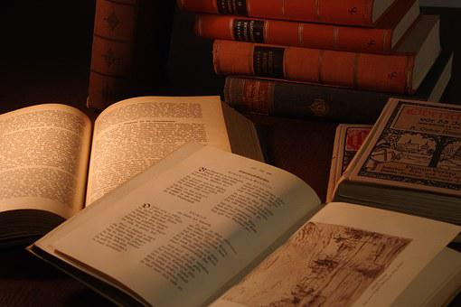 Library, Book, Documents, Manuscripts, History