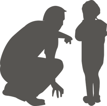 Child, Crouch, Dude, Family, Kid, Kneel, Look, Male