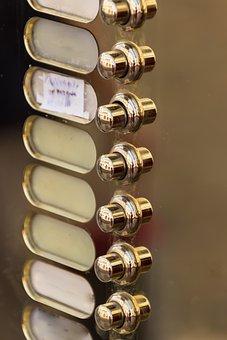 Bell, Front Door, Door Detail, Input, Door, Doorbell