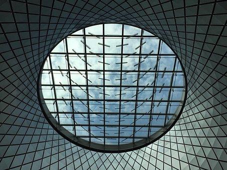 Glass, Window, Fulton, Ceiling