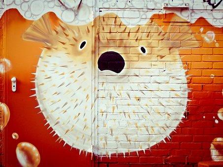 Graffiti, Wall, Painting, Frescos, Facade, Art Form