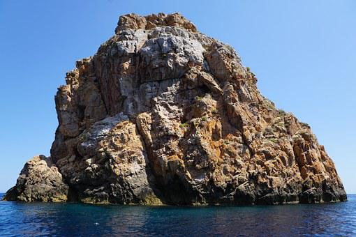 Ibiza, Rock, Sea, Water, Vacations, Holidays, Island