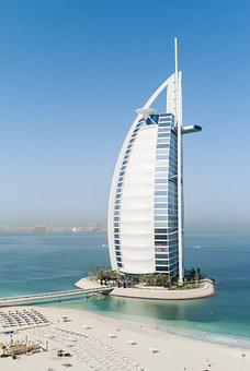 Dubai, Burj Al Arab, Hotel, Beach, Paradise, Costa