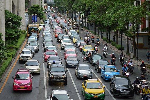 Traffic, Rush Hour, Rush, Hour, Urban, City, Road