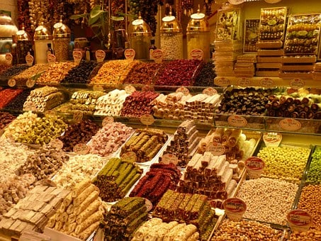 Bazaar, Market, Business, Turkey, Istanbul, Delicious
