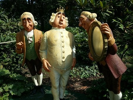 Sculpture, Garden, Fairy Tales, Fig, King, Consultant