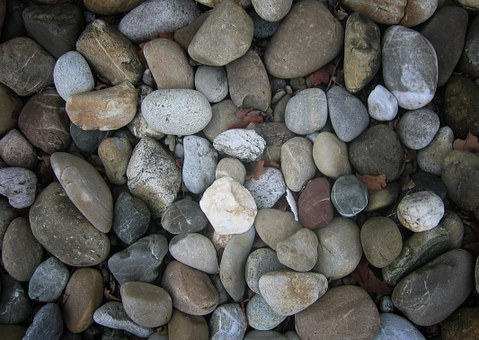 Stone, Pebble, Bank, Wellness, Collection, Many, Form