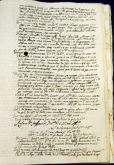 Manuscript, Ancient, Writing, Document, Map, Old