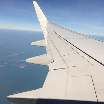 Plane, Wing, Cloud, Aircraft, Travel