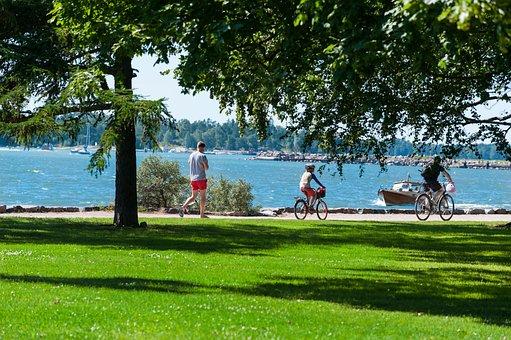 Prato, Sea, Bicycle, Walk, Workout, Race, Leisure