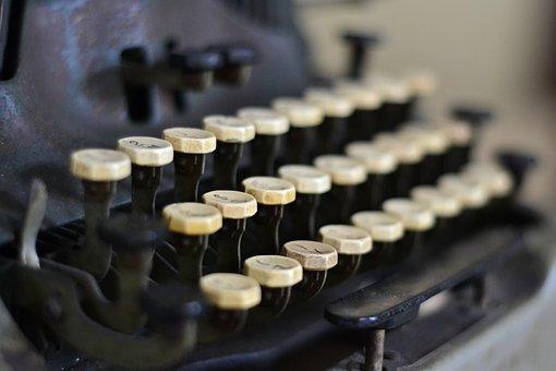 Typewriter, Write, Vintage, Retro, Old, Paper, Type